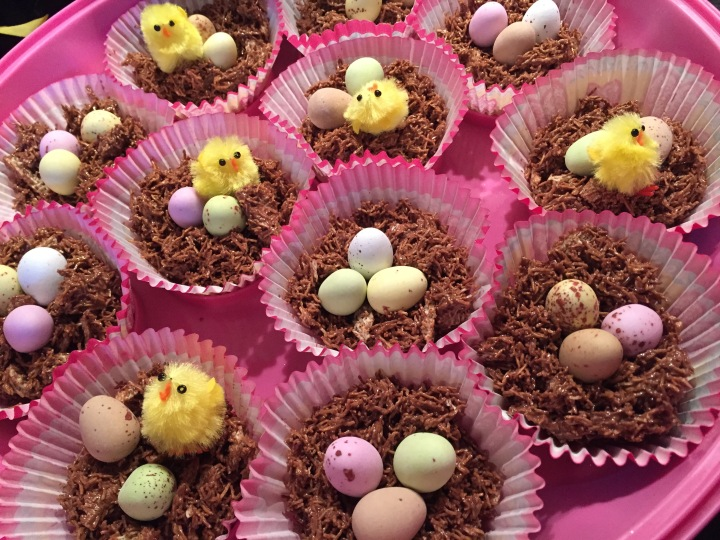 Baking: Shredded Wheat Easter Nests