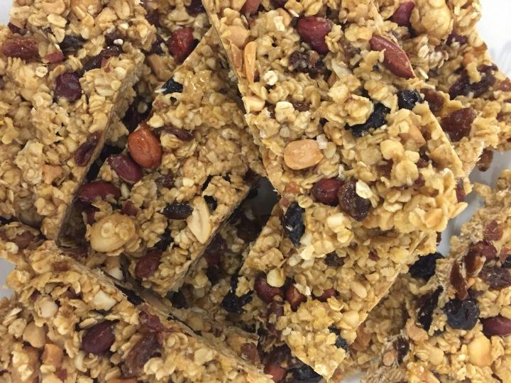 No-Bake Granola BreakfastBars