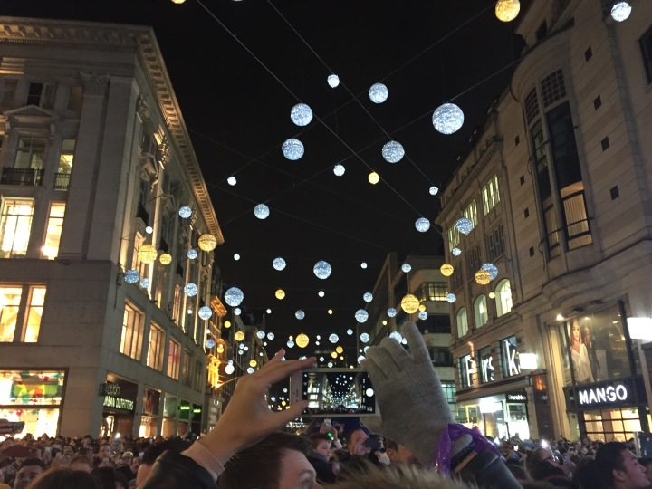 Oxford Street Christmas Lights | November 2016