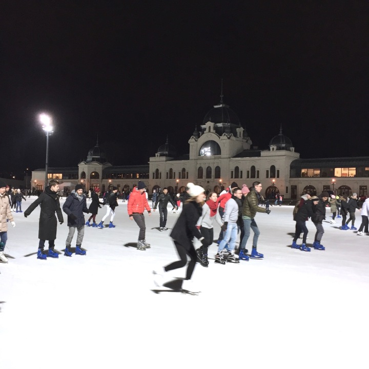 Ice Skating in City Park | Budapest 2017